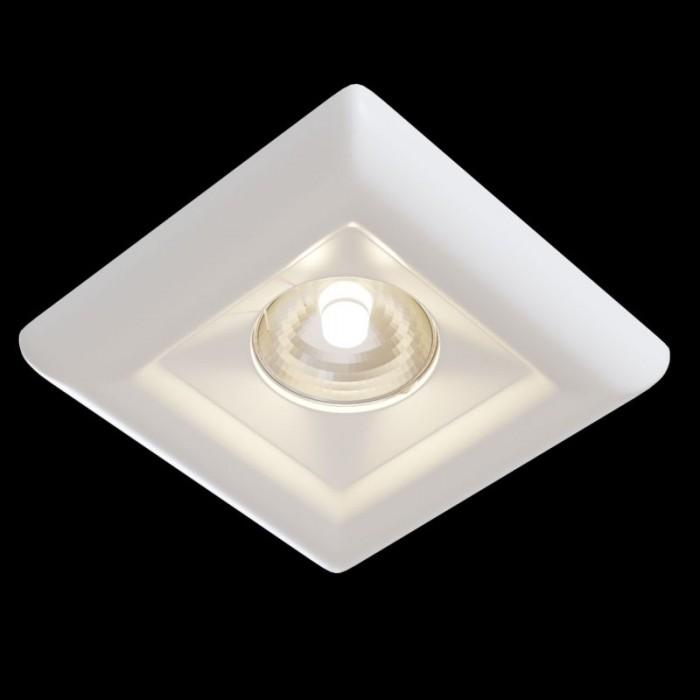 1Встраиваемый светильник Gyps Modern DL007-1-01-W
