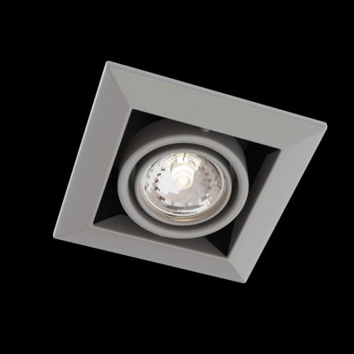 Встраиваемый светильник Metal Modern DL008-2-01-S
