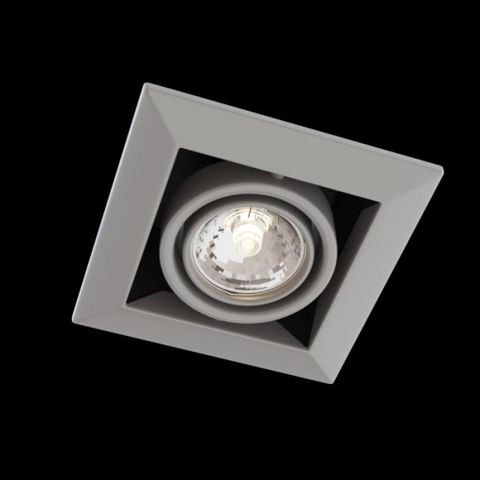 1Встраиваемый светильник Metal Modern DL008-2-01-S