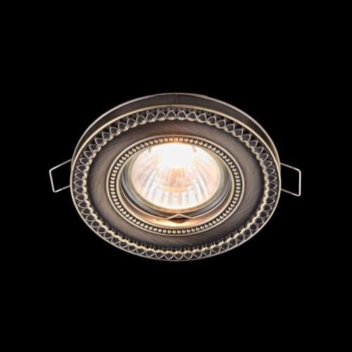 Встраиваемый светильник Metal Classic DL302-2-01-BS
