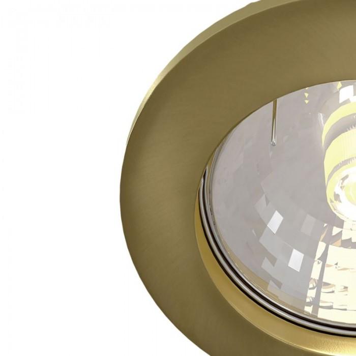 2Встраиваемый светильник Metal Modern DL009-2-01-BZ