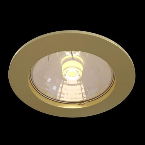 Встраиваемый светильник Metal Modern DL009-2-01-G