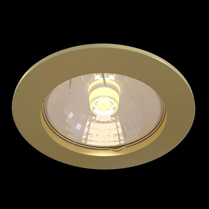 1Встраиваемый светильник Metal Modern DL009-2-01-G
