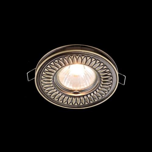 Встраиваемый светильник Metal Classic DL301-2-01-BS
