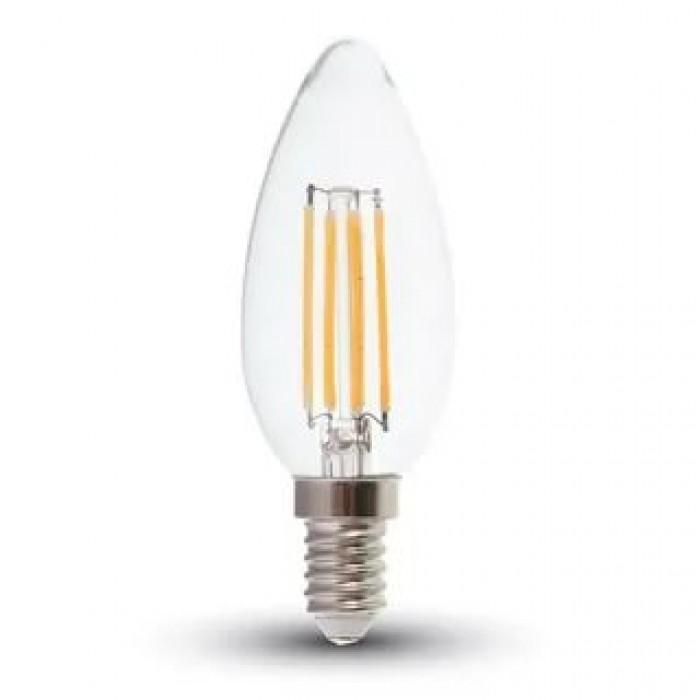 1Филаментная лампа V-TAC 4 ВТ Е14, 2700К