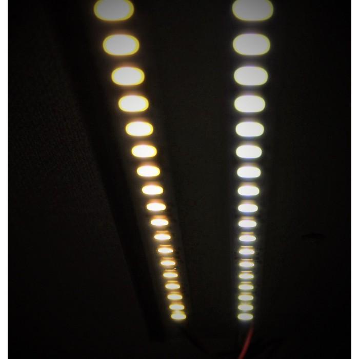 2Светодиодная линейка белый холодный свет