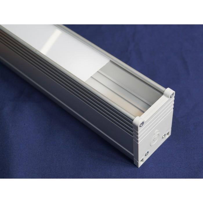 2Рассеиватель матовый для алюминиевого профиля PN 7350 3 метра