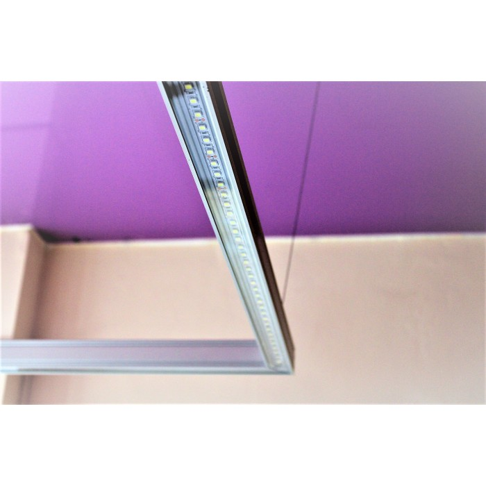 2Экран прозрачный для алюминиевого профиля недорого